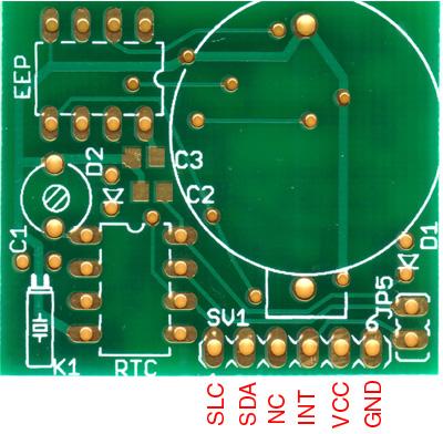 I2C RTC + EEPROM