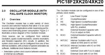 Oscillator Modes