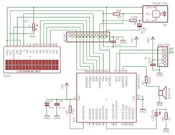 28PIC basis print als kit met de 18F25K20 en 3,3V regulator