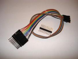 10 Polig Jumper Kabel - 30 cm