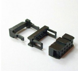 Cable header 2.54mm 2x  2x5 pins