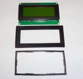 20x4 LCD Display Geel-Groen + Bezel