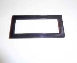 Zwarte bezel voor 20x4 LCD display