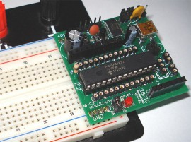 28PIC Breadboard Kit