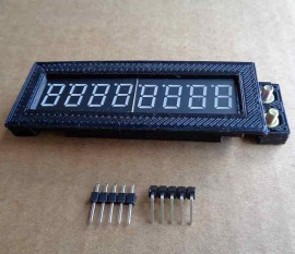 MAX7219 7 Segment 8 Digit Display