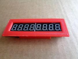 MAX7219 7 Segment 8 Digit Display (rood)