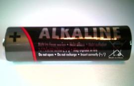 4 stuks AA Alkaline batterij