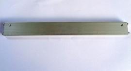 Aluminium staaf 230x25.5x6.5mm