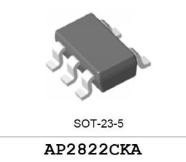 2X AP2822CKA 1A Power Distribution Switch