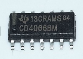 2x CD4066 Quad switch