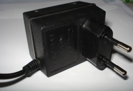 Power adapter 9V 210mA