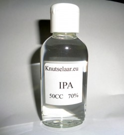 Flesje 50CC 70% Isopropanol (IPA)