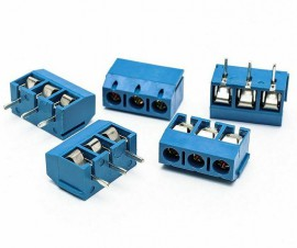 5x 3 Pins Terminal Blok