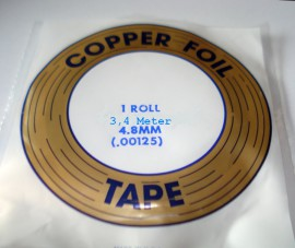 Koper Folie Tape 3,4 Meter 4,8mm