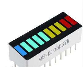 2X LED Bar 4 kleuren + 2X LM3915 Driver IC