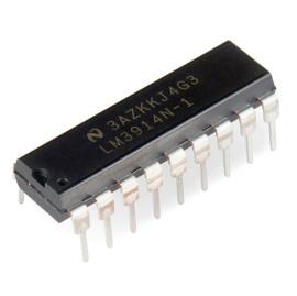 LM3914 LEDBar Driver IC linear