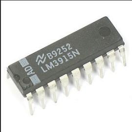 LM3915 LEDBar Driver IC logaritmisch