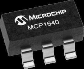 MCP1640B 0.7V SOT23 Boost converter