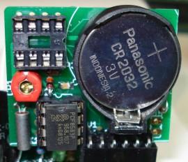 I2C RTC Kit PCF8583