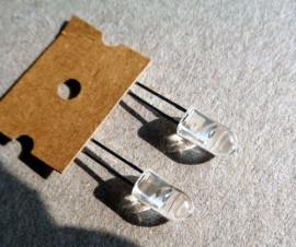 2 X 5mm Infra Rood LED