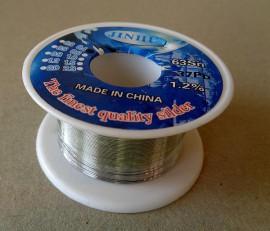 Soldeertin loodhoudend 0.4mm 10 gram