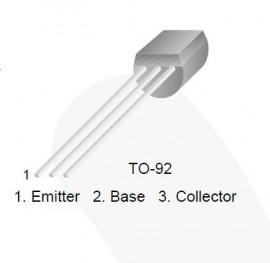 8x TO-92 SS8050 NPN Transistor