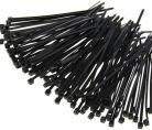 100x 2,5mm Tie-Wrap-s 10cm zwart