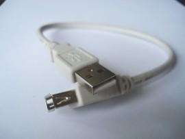 USB Verleng kabel A-A 28cm