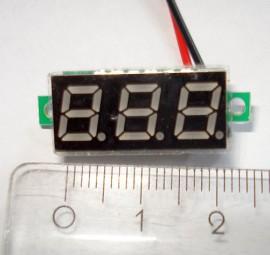 2 Draads Mini Voltmeter