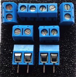 8x 2 Pins Terminal Blok